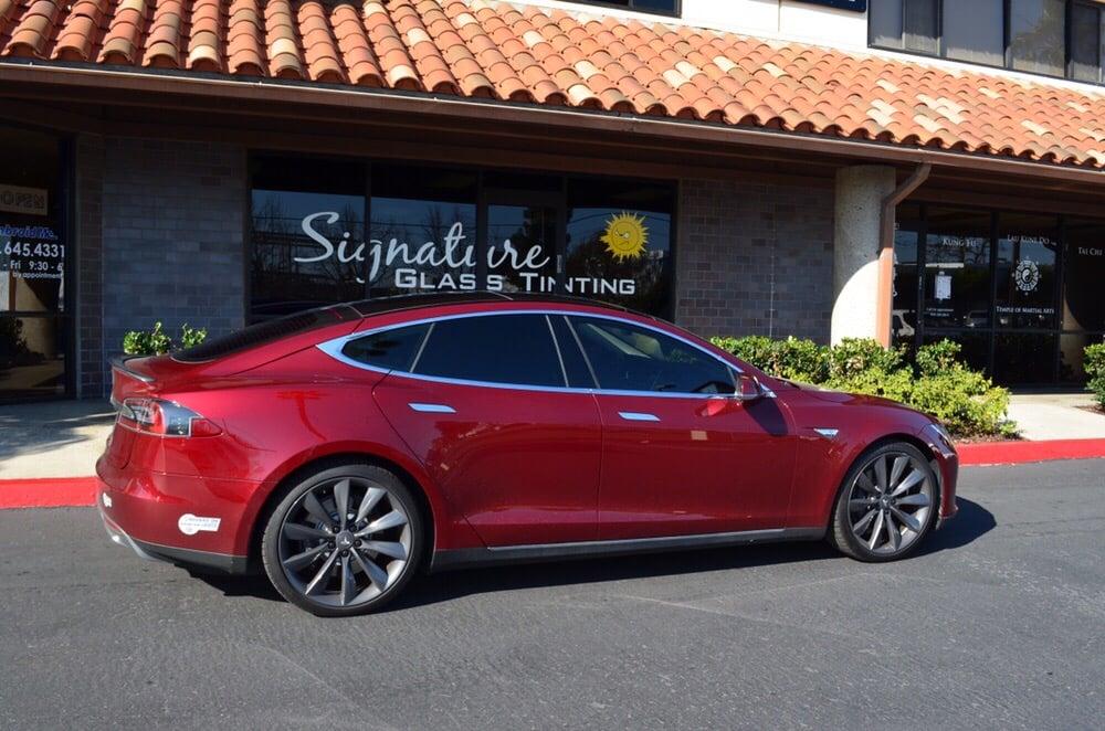 Orange County California's Tesla Window Tinting Experts - Automotive Window Tinting in Costa Mesa, California